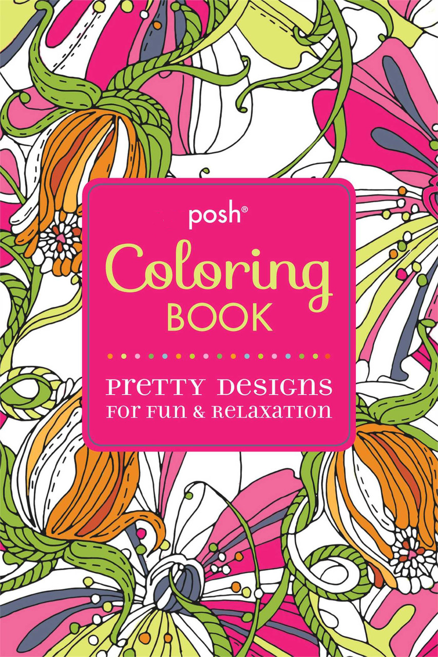 Zendoodle coloring enchanting gardens - Posh Coloring Book Pretty Designs For Fun Relaxation