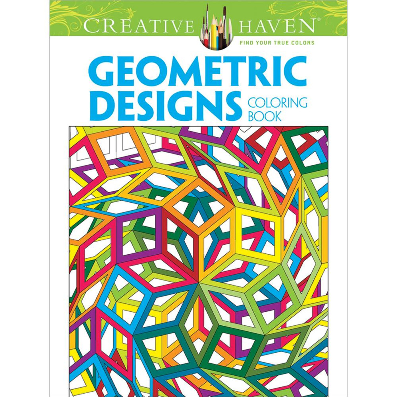 creative haven coloring book geometric designs - Creative Haven Coloring Books