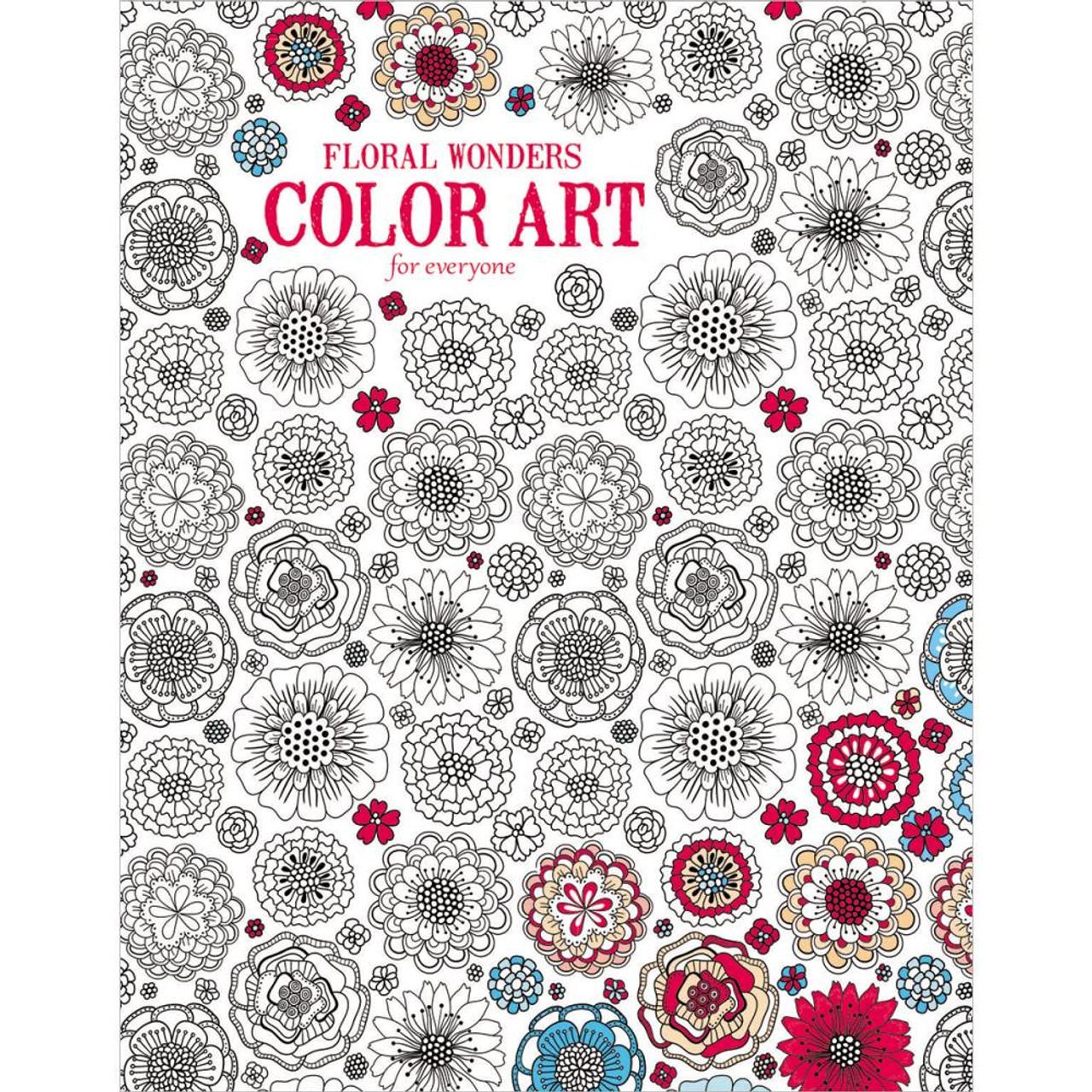 Zendoodle coloring enchanting gardens - Floral Wonders Color Art For Everyone