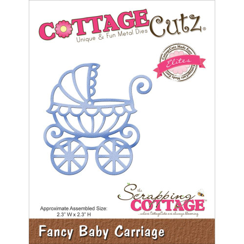 Cottage Cutz Elites: Fancy Baby Carriage