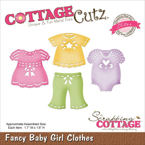 Cottage Cutz Elites: Fancy Baby Girl Clothes