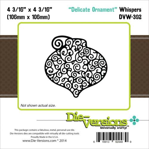 Die-Versions Whispers: Delicate Ornament