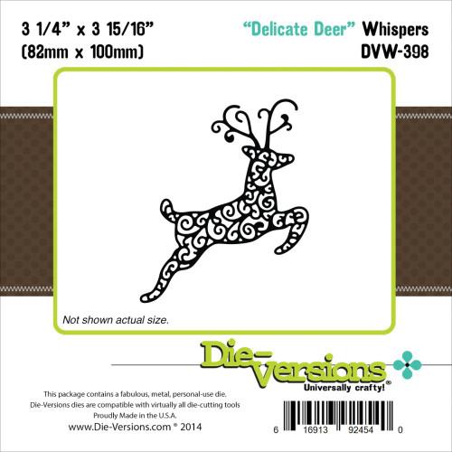Die-Versions Whispers: Delicate Deer