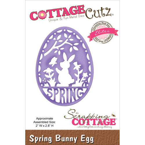 Cottage Cutz Elites: Spring Bunny Egg