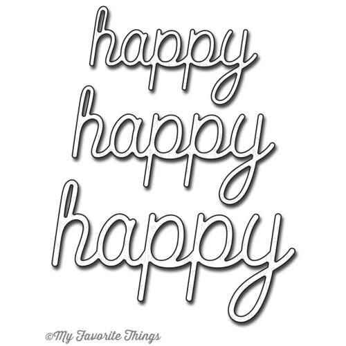 My Favorite Things Die-namics: Happy Trio