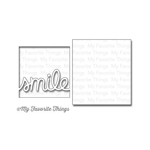 My Favorite Things Die-namics: Smile Set