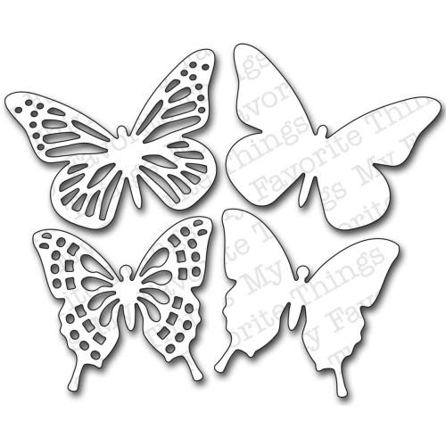 My Favorite Things Die-namics: Fancy Butterflies