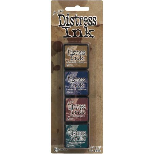 Tim Holtz Distress Ink Pad Mini Kit #12