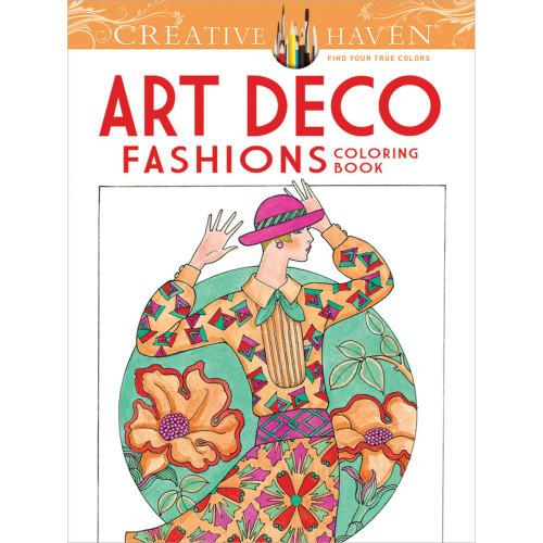 Creative Haven Coloring Book: Art Deco Fashions