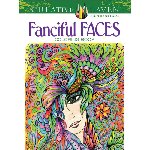 Creative Haven Coloring Book: Fanciful Faces