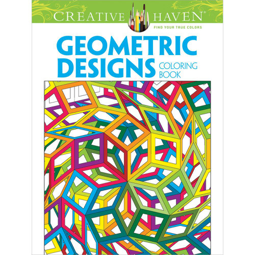 Creative Haven Coloring Book Geometric Designs