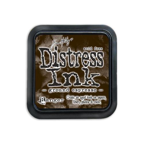 Distress Ink Pad: Ground Espresso