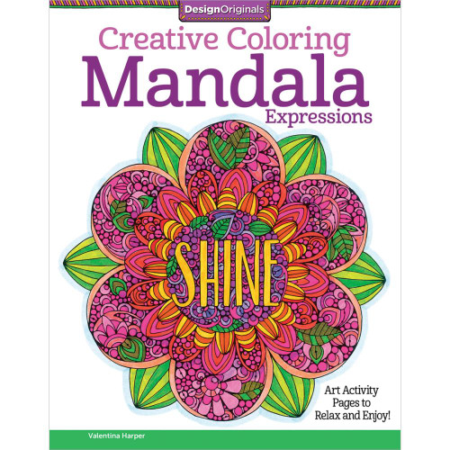 Design Originals Creative Coloring Book: Mandala Expressions