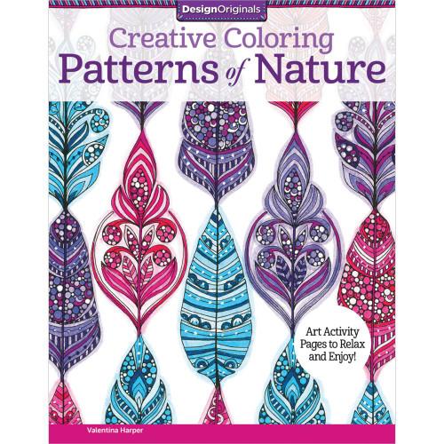 Design Originals Creative Coloring Book Patterns Of Nature