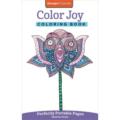 Design Originals Perfectly Portable Pages Coloring Book: Color Joy