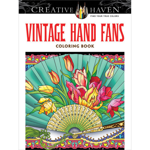 Creative Haven Coloring Book Vintage Hand Fans