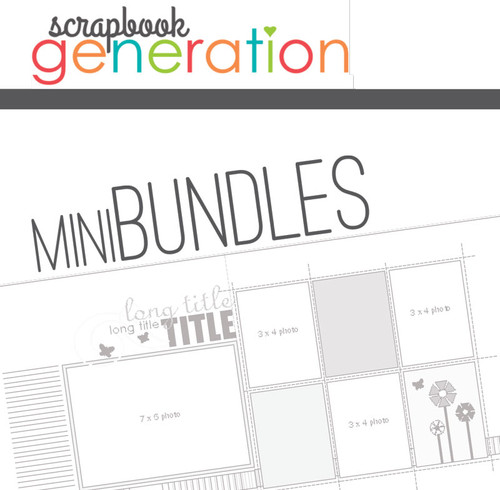 MINI-BUNDLE: October 2015 - Halloween - One Page