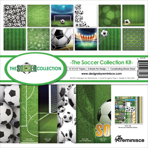 Reminisce 12x12 Collection Pack: The Soccer Collection
