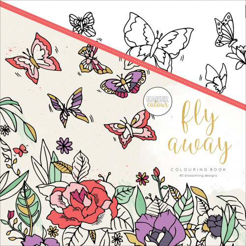 KaiserColour Perfect Bound Colouring Book: Fly Away