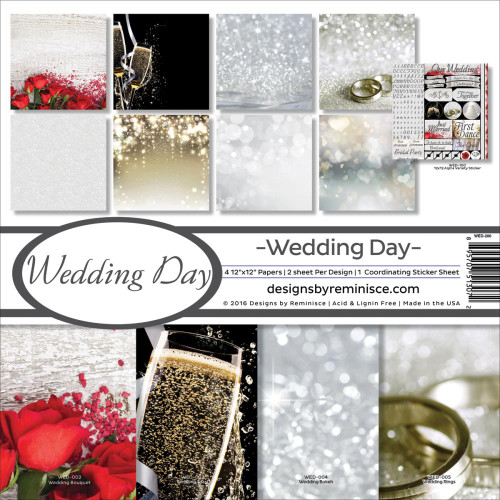 Reminisce Wedding Day 12x12 Collection Kit