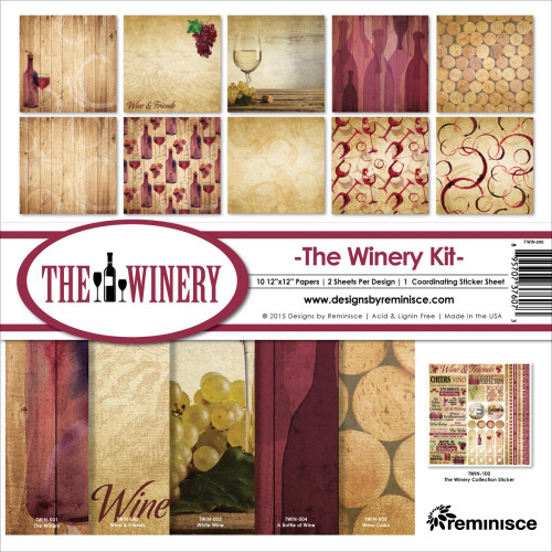Reminisce The Winery 12x12 Collection Kit