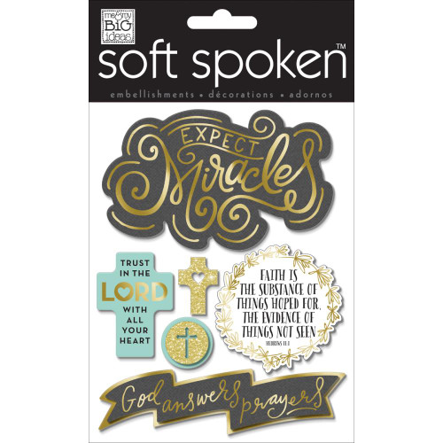 Soft Spoken Stickers: Expect Miracles