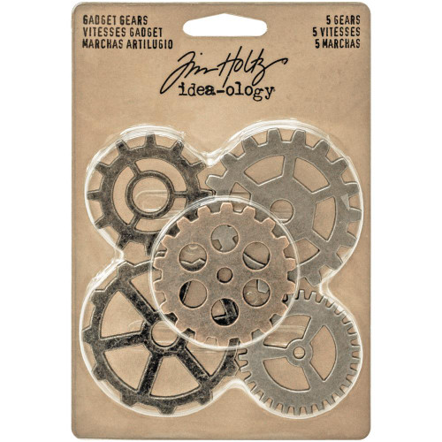 "Tim Holtz Idea-Ology: Metal Gadget Gears (1-1/2"" to 2"")"