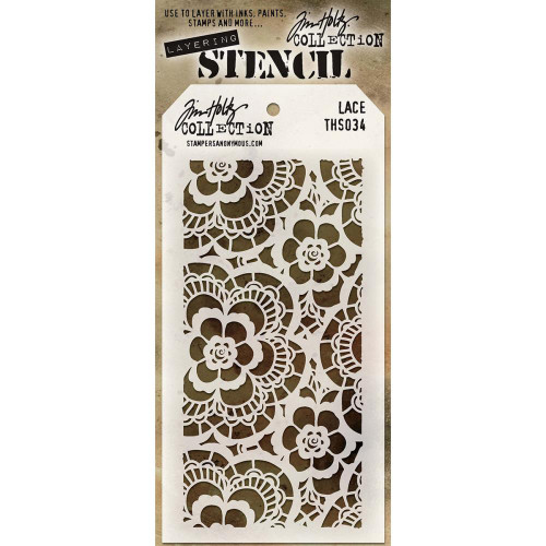 Tim Holtz Layered Stencil: Lace