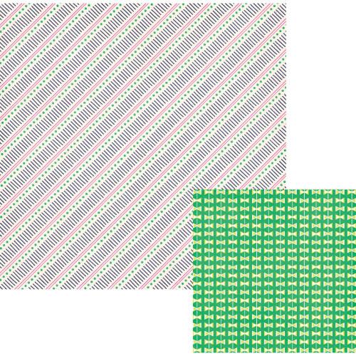 WRMK Flower Girl 12x12 Paper: Terrace