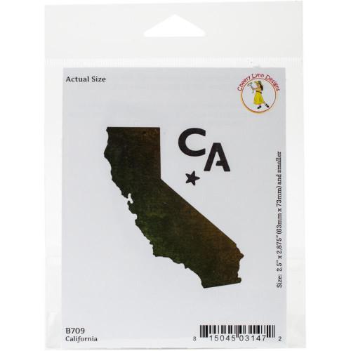 Cheery Lynn Designs Cuting Die: California