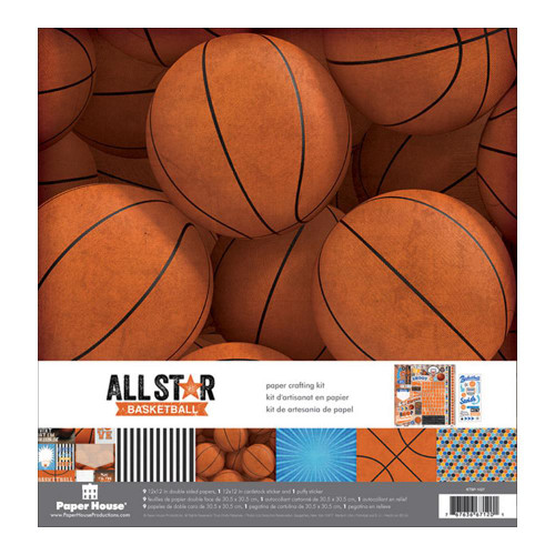 Paper House Productions 12x12 Collection Kit: All Star Basketball