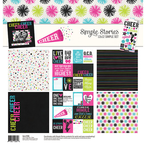 Simple Stories Cheer Simple Set Collection Kit
