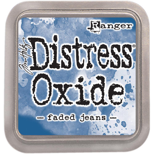 Distress Oxide Ink Pad: Faded Jeans