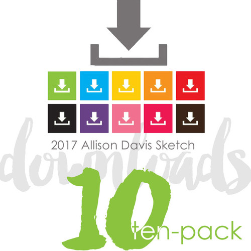 10-PACK: May 2017 NSD Block Elements (Two Page Layouts)
