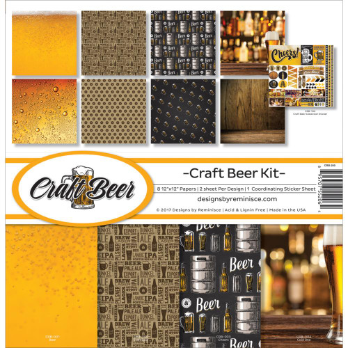 Reminisce 12x12 Collection Pack: Craft Beer