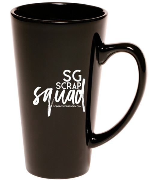 SG Scrap Squad Cafe Style Coffee Mug