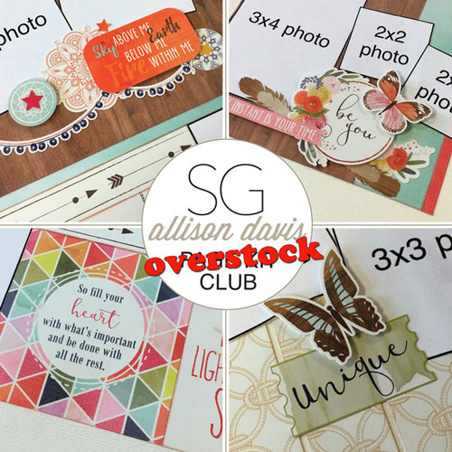 SG: Allison Davis Overstock Club Kit - August 2017
