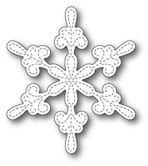 Memory Box Dies: Chancery Snowflake Outline