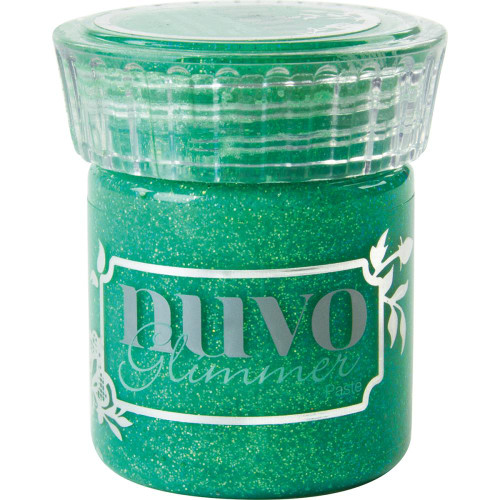 Tonic Studios Nuvo Glimmer Paste: Peridot Green