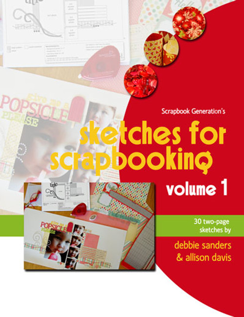 E-BOOK: Sketches For Scrapbooking - Volume 1 (non-refundable digital download)