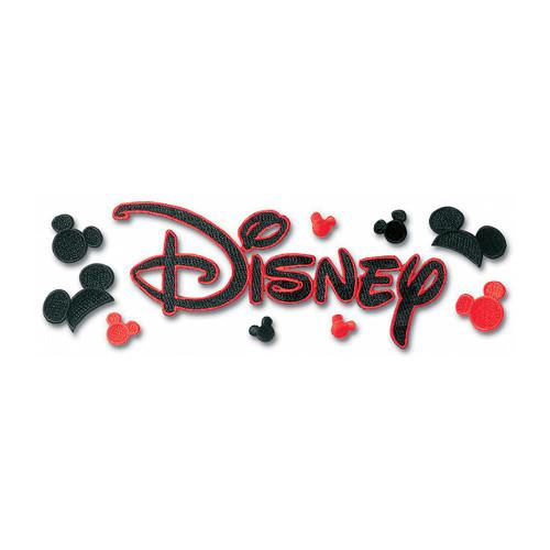 Disney Embroidered Title Sticker