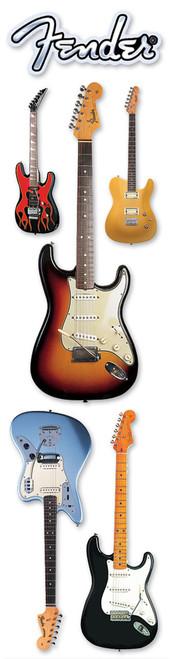 Paper House 3D Title Sticker: Fender