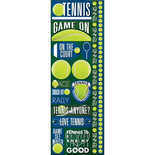 Reminisce Signature Series: Tennis Sticker