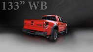 "Corsa 14388 Sport Polished Twin 4.0"" Single Side Cat-Back for 2010-only Ford F-150 Raptor  5.4L V8"