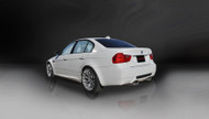 "Corsa 14569 Sport Polished Twin 3.0"" Dual Rear Cat-Back for 2008-2012 BMW M3 E90"