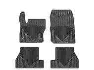 WeatherTech 2013-2016 Ford Focus ST All-Weather Black Front & Rear Floor Mats W254-W272 - WeatherTech