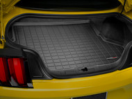 WeatherTech 2015-2017 Ford Mustang EcoBoost Laser Measured Black Cargo Liner Without Shaker 40727 - WeatherTech