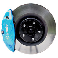 Ford Racing 2013-2016 Ford Focus ST RS 4-Piston Blue Brembo Front Brake Upgrade Kit M-2300-W - Ford Racing