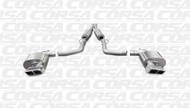 Corsa 14424 Xtreme Polished GTX2 Dual Rear Cat-Back for 2011-2013 Dodge Challenger SRT-8  6.4L V8 Manual