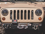 """Shop JBO's Special Deals on Rigid Industries 7"""" Round Headlight Non Jk Pair of 2 Part Number: 55009 - ADD to CART For SPECIAL PRICE! Call Us at 1-844-JBO-BOLT."""